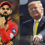 Royal Challengers Bangalore's Meme Video On Donald Trump