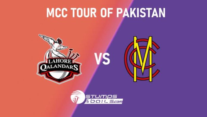 Marylebone Cricket Club tour of Pakistan, T20 Match prediction