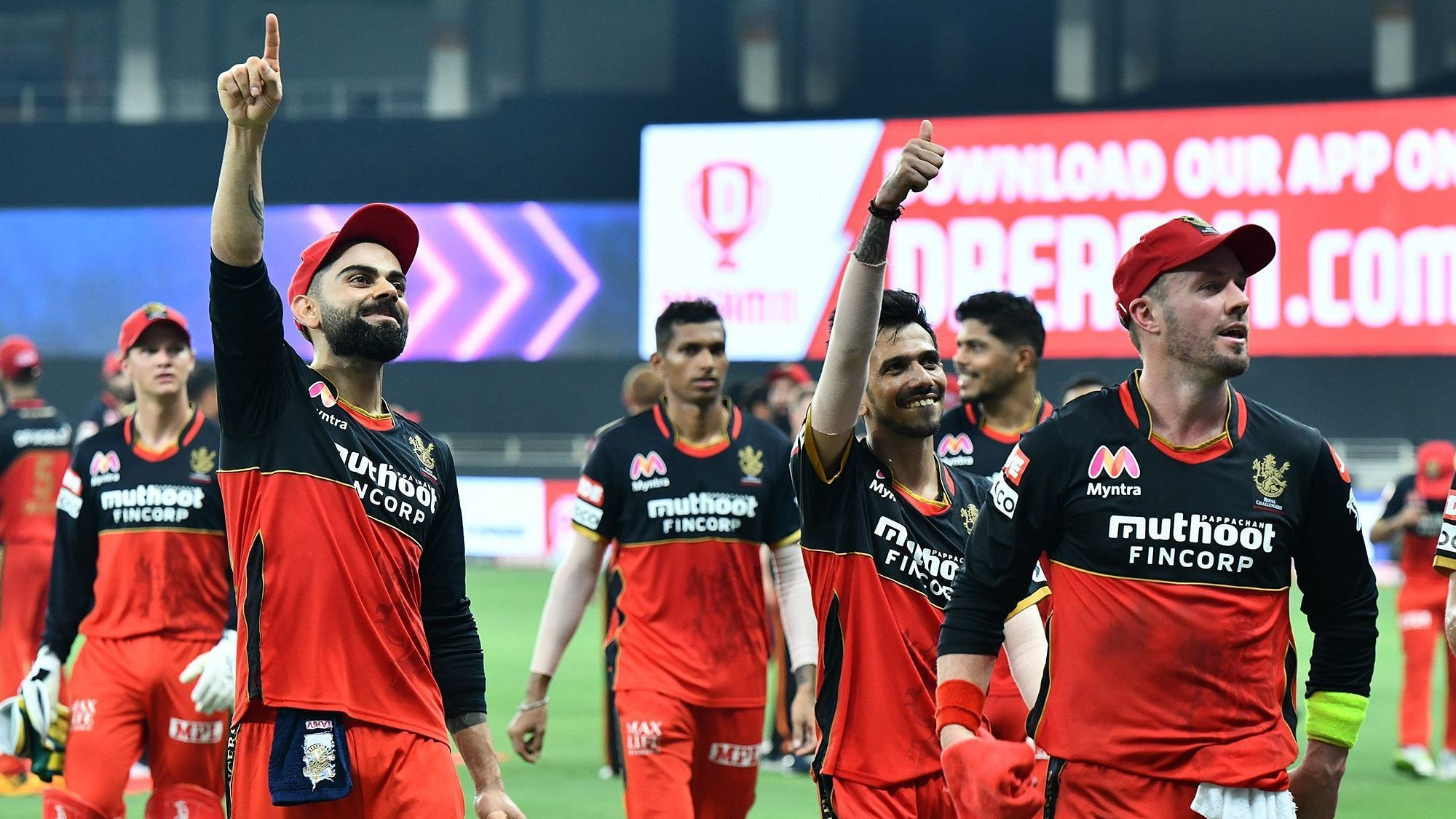 Royal Challengers Bangalore beat Kolkata Knight Riders by 8 wickets