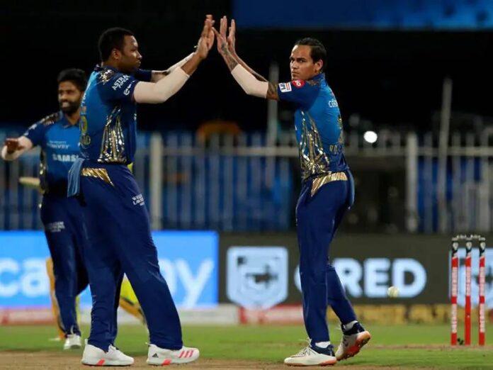 Rahul Chahar, Pollard and Krunal Pandya are the weak links in the MI bowling line up