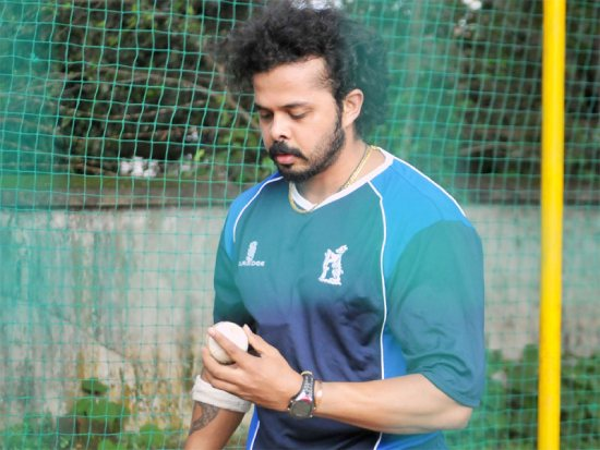 S. Sreesanth included in Kerala's squad