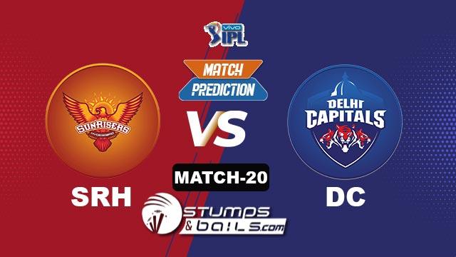 Match-Prediction-20: SRH vs DC