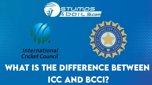 What Is The Difference Between ICC and BCCI?